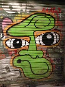 Spanish street art.