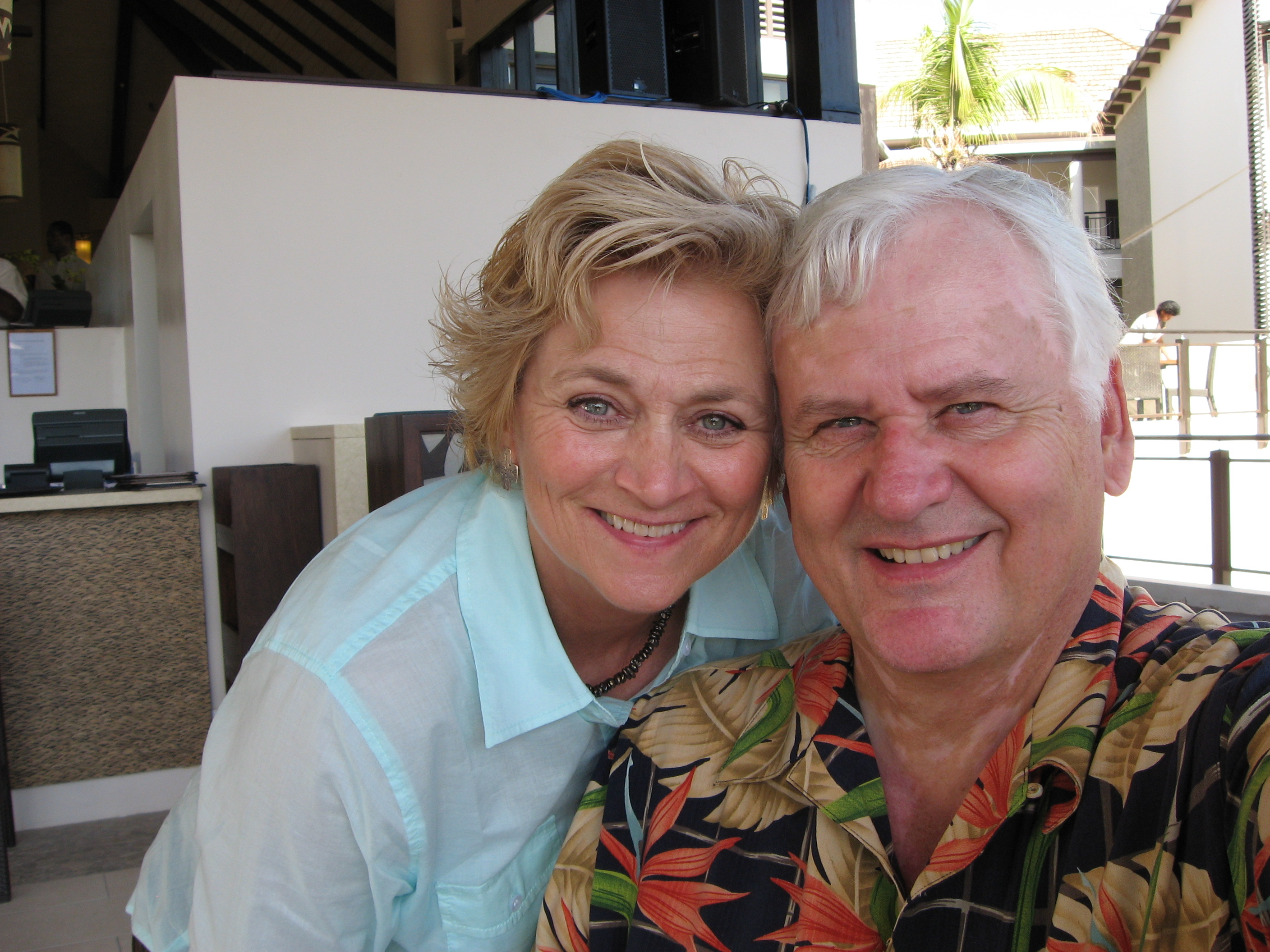 Bebe & Bobby in Fiji, YWAM, renewing their vows, 2007
