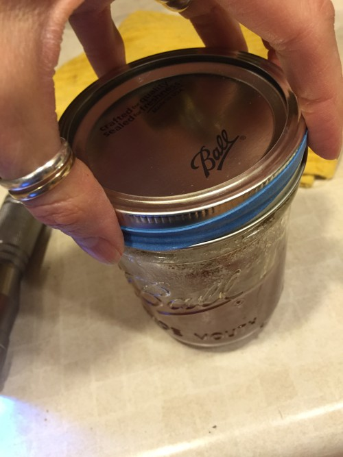 Save the rubberband from your broccoli and keep it handy in the kitchen for opening tight fitting lids on jars. Works like a charm. And it's particularly helpful when I'm having pain in my hands and wrists from arthritis. Cost: depends on your local grocer.